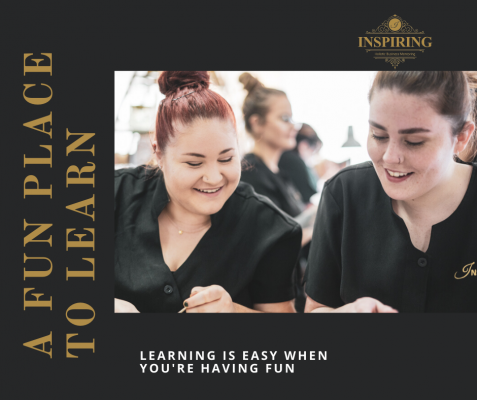Inspiring Beauty Training Salon